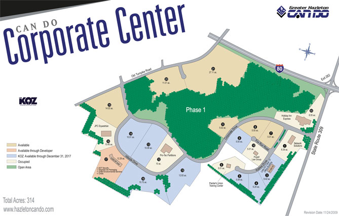 CAN DO Corporate Center map